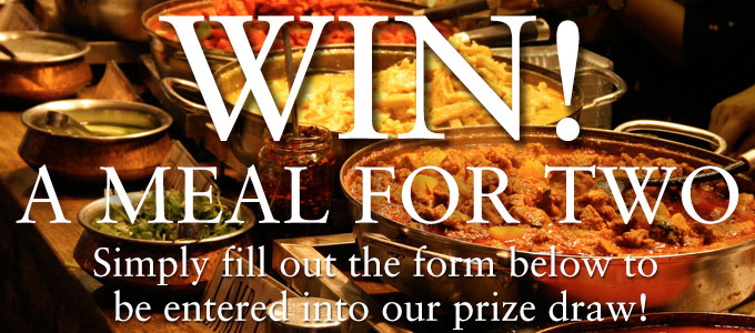 Win a Meal for two at Classic India!